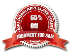 judgment for sale banner